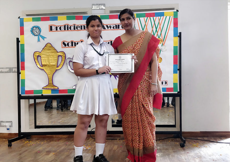 Proficiency and Scholar Badge Ceremony in DPS SECTOR- 84